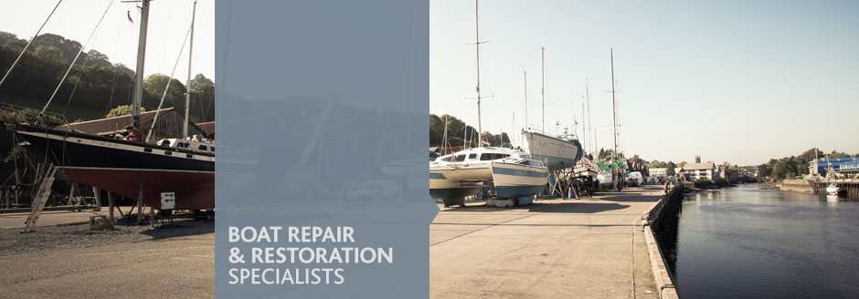 Boat repair and restoration specialists