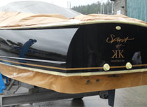 Cosmetic Hull Coatings and Paintwork
